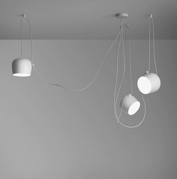 AIM Small - LED Ceiling Pendant Lamps By Bouroullec