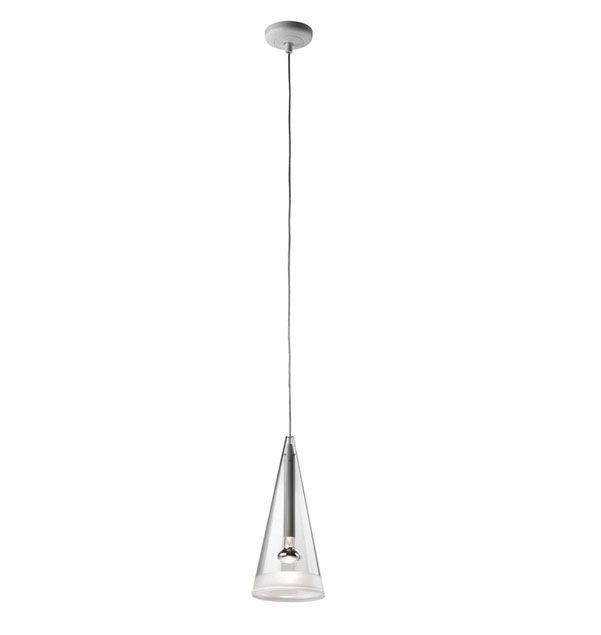 Fucsia 1 - Pendant Ceiling Dimmable Light By Achille Castiglioni
