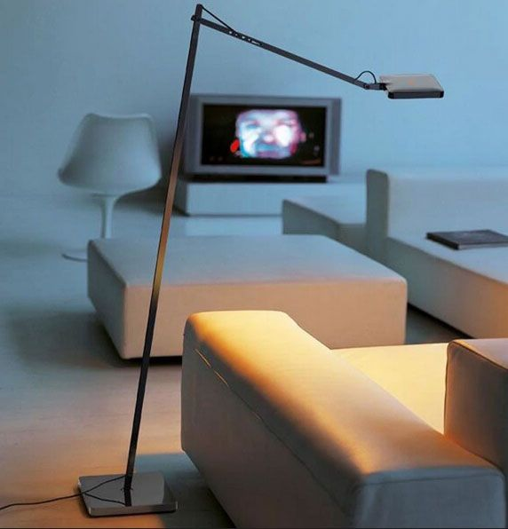 Kelvin LED 3-Step Dimmer Floor Lamp By Antonio Citterio
