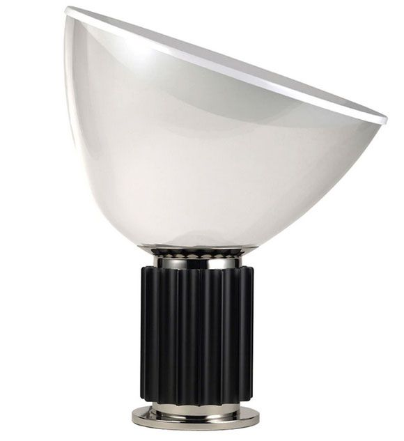 Taccia - LED Table Lamp Dimmable With Plastic Diffuser By Castiglioni