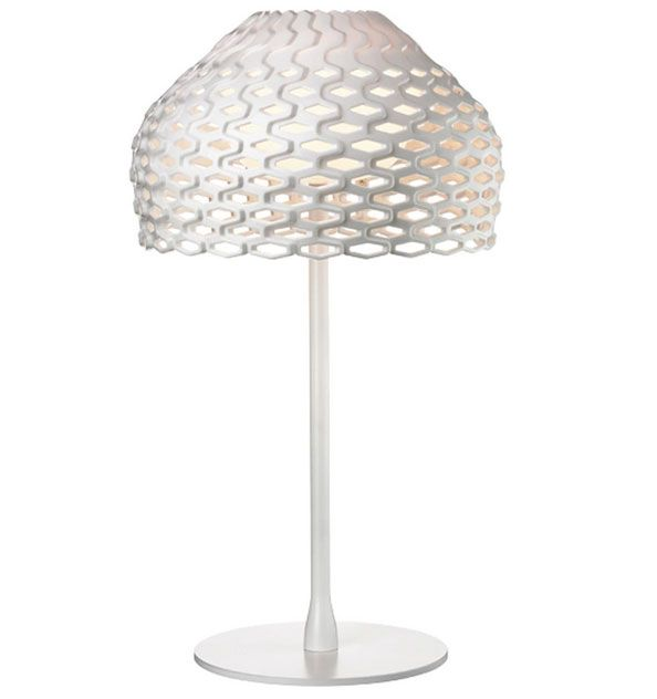 Tatou Table Lamp in White Bronze or Black By Patricia Urquiola