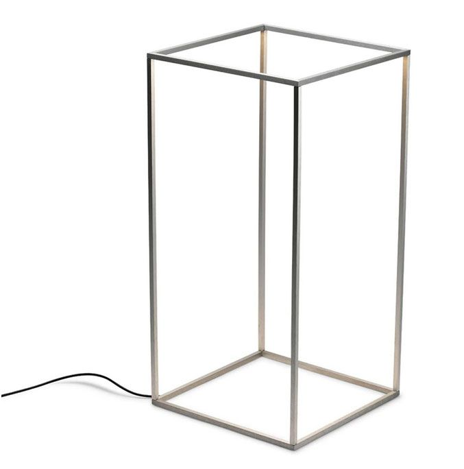 Ipnos Outdoor Rectangular Floor Lamp By Nicoletta Rossi and Guido Bianchi