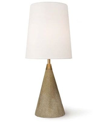 Concrete Mini Cone Lamp