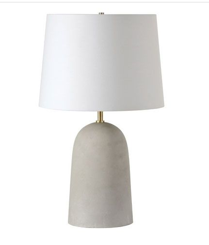 Moya Concrete Lamp