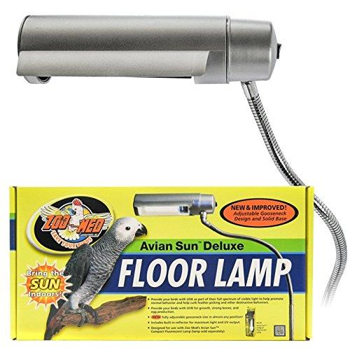 Zoo Med Aviansun Deluxe Floor Pet Lamp Royalite Lighting